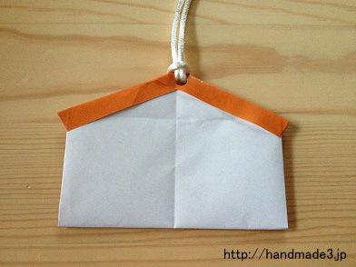 お正月の折り紙まとめ!簡単な ... : 箸袋 折り紙 簡単 : 折り紙