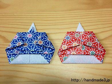 折り方 お雛様 折り方 : 折り紙でお雛様をつくる~折り ...