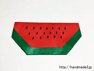 とっても簡単で、夏にぴったり ... : 折り紙 小物入れ 簡単 : 折り紙