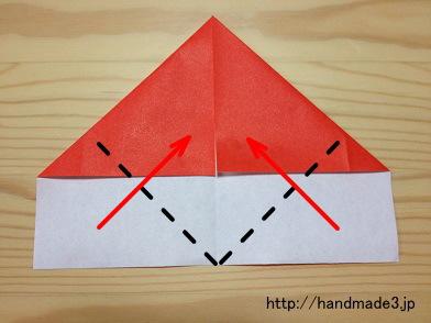 クリスマス 折り紙 折り紙 手紙 簡単 : handmade3.jp