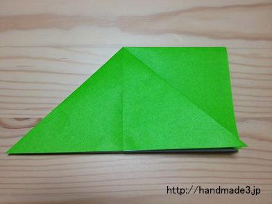 ハート 折り紙:折り紙 かえる 簡単-handmade3.jp