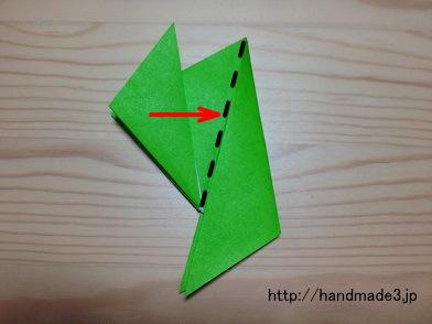 クリスマス 折り紙 折り紙 カエル 折り方 簡単 : handmade3.jp
