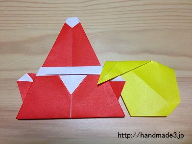 簡単 折り紙 サンタクロース 折り紙 簡単 : handmade3.jp