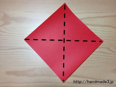 ハート 折り紙 簡単に作れる折り紙 : handmade3.jp