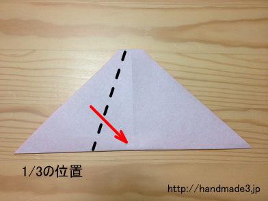 簡単 折り紙:折り紙 帽子 折り方-handmade3.jp