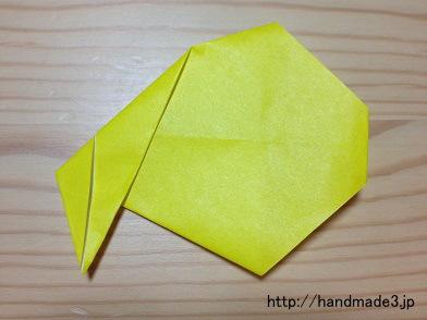 折り紙でサンタの袋を作ってみた