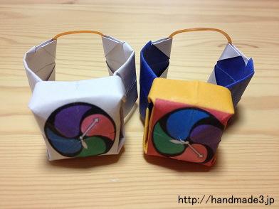 折り紙のDX妖怪ウォッチ タイプ零式とDX妖怪ウォッチ