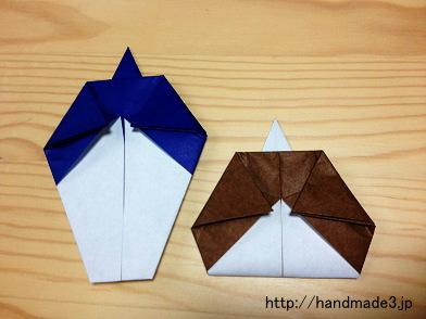 ハート 折り紙 ひな祭り折り紙簡単 : handmade3.jp