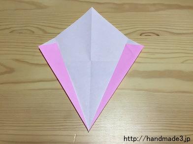 花 折り紙 桃の花 折り紙 : handmade3.jp