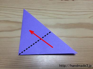簡単 折り紙 あやめ折り紙 折り方 : handmade3.jp