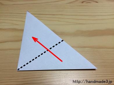 クリスマス 折り紙:あじさい 折り紙 簡単-handmade3.jp