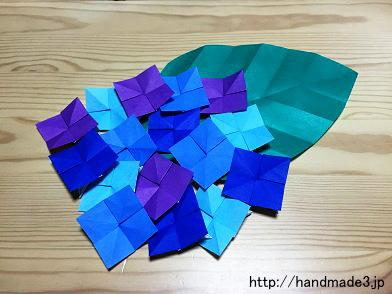花 折り紙:9月の花 折り紙-handmade3.jp