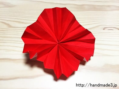 クリスマス 折り紙 簡単な折り紙 花 : handmade3.jp