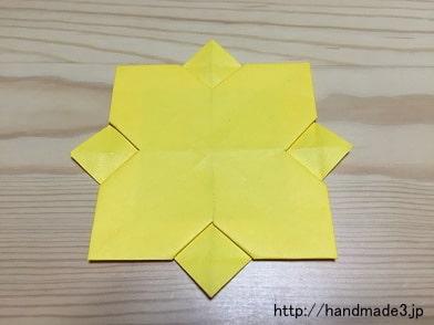 簡単 折り紙 折り紙 ひまわり 作り方 : handmade3.jp