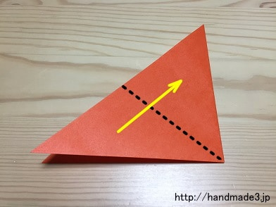 ハート 折り紙 折り紙 チューリップ 作り方 : handmade3.jp