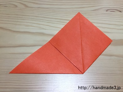 折り 折り紙 : 折り紙 チューリップ 折り方 : handmade3.jp