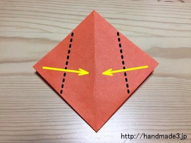 クリスマス 折り紙 チューリップ 折り紙 : handmade3.jp