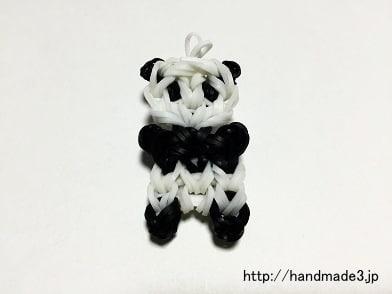 ファンルームでパンダのチャームを作った