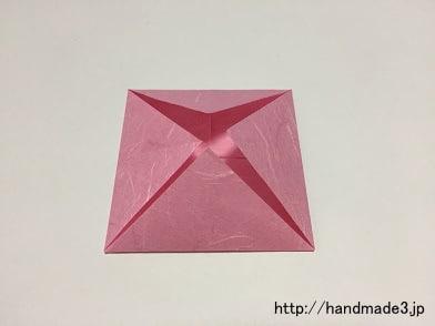 ハート 折り紙 折り紙 蓮の花 折り方 : handmade3.jp