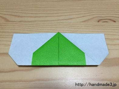紙 折り紙:クローバー 折り紙-handmade3.jp
