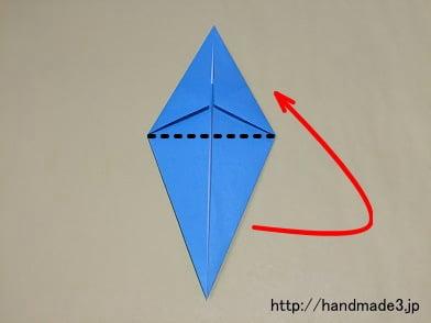 簡単 折り紙 : 星の作り方 折り紙 : handmade3.jp