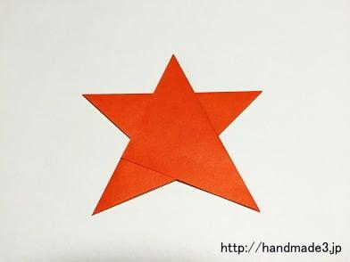 折り紙でさんまいぼしを折った