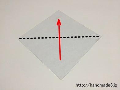クリスマス 折り紙 折り紙コウモリの作り方 : handmade3.jp