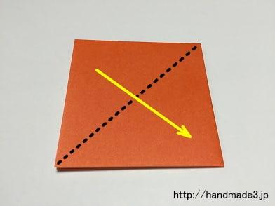 簡単 折り紙 折り紙 かぼちゃ : handmade3.jp