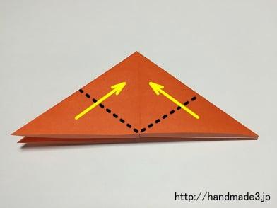 花 折り紙 : 折り紙 かぼちゃ 折り方 : handmade3.jp