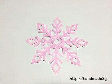 雪の結晶の作り方